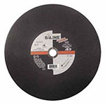 Bee Line Abrasives Cut Off Wheel, 14in Dia, 3/32in Thick, 1in Arbor, 30 Grit