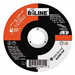 Bee Line Abrasives Depressed Center Cut-Off Wheel, 4 1/2in Dia, .045in Thick, 7/8in Arbor, 46 Grit