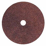Bee Line Abrasives Resin Fiber Discs, 4in Diameter, Aluminum Oxide, 60 Grit