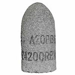 Bee Line Abrasives Cones and Plugs, 1 1/2in Dia, 3in Thick, 5/8-11in Arbor, 24 Grit, T16