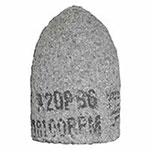 Bee Line Abrasives Cones and Plugs, 2in Dia, 3in Thick, 5/8-11in Arbor, 24 Grit, T16