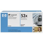 HP 53X Toner Cartrid1 x Black 7000 Pages