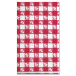 "Little Rapids 91-0105 Red Gingham Paper Table Cover, 40"" x 300"""