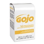 Gojo Enriched Lotion Soap Bag-in-Box Refill, Herbal Floral, 800mL, 12/Carton