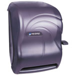 San Jamar Paper Towel Dispenser with Lever Action, Black Pearl