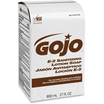 Gojo E-2 Sanitizing Lotion Soap Refills, 800 mL
