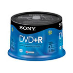 Sony DPR 47RS4 - DVD+R X 50 - 4.7 GB - Storage Media