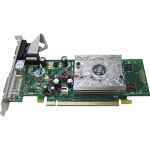Jaton VIDEO-PX8400GS_LX - Graphics Adapter - GF 8400 GS - PCI Express X16 Low Profile - 256 MB DDR II, DVI - HDTV Out