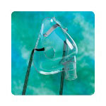 Hudson RCI Aerosol Mask with O Tubing, Pediatric
