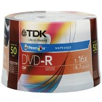 Imation TDK DVD-R X 50 - 4.7 GB - Storage Media