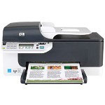 HP J4680 Officejet Color Inkjet Printer (Copier/Printer/Scanner/Fax)