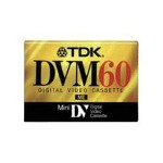 Imation TDK DVM 60 Mini DV tape - 1 x 60min