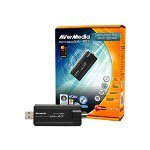 Avermedia AVerTV Hybrid Volar Max - ATSC HDTV Receiver / Analog TV / Radio Tuner / Video input Adapter - Hi-Speed USB