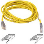 Belkin Crossover Cable - RJ45 (M) - RJ45 (M) - 7' - UTP - (CAT 5E) - Yellow