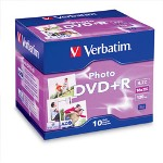 Verbatim Blank Media, DVD+r 4.7gb 16x 10pk