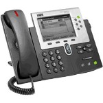 Cisco Cisco IP Phone 7961G VoIP Phone - SCCP - Silver, Dark Gray - w/1 x User License