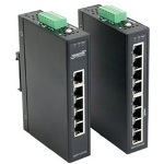 XBlue Industrial Stand-Alone Switch Extended Operating Temperature - Switch - 8 Ports - Desktop