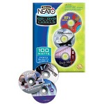 Fellowes Matte CD/DVD Labels - 100 Pcs.