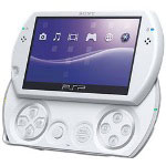 Sony PSP Go - Handheld Game Console - Pearl White