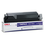 Okidata Type 8 Toner Cartridge - 1 x Black - 4000 Pages