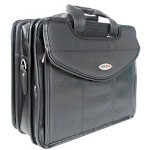 Mobile Edge MEVLLU Ultra V-Load Briefcase - Notebook Carrying Case - Black