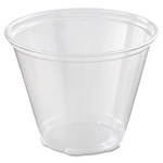 Dart Container 9 Oz Cold Plastic Cups, Clear, Pack of 1000