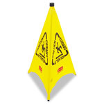 Rubbermaid Yellow Safetycone Caution/Wet 30""
