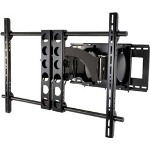 "Sanus Systems Sanus VisionMount VMDD26b - Mounting Kit (Wall Mount w/Dual Hinged Arms) For Flat Panel - Aluminum, Steel - Black - Screen Size: 42"" - 63"""