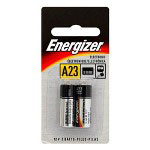 Energizer A23 Battery, 12 Volt , 2 Pack