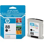 HP C9385AN#140 No. 88 Black Inkjet Cartridge, 820 Pages