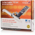 Startech Low Profile 2 Port IEEE 1394 FireWire PCI Card - FireWire Adapter - PCI Low Profile - Firewire - 3 Ports