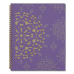At-A-Glance Vienna Weekly/Monthly Appointment Book, 8 1/2 x 11, Purple, 2019