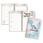 At-A-Glance B-Positive Desk Weekly/Monthly Planner, Live In The Moment, 5 3/8 x 8 1/8, 2018