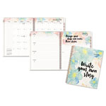 At-A-Glance B Positive Prof. Week/Month Planner, Write Your Own Story, 9 1/4 x 11 3/8, 2018