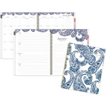 At-A-Glance Paige Weekly/Monthly Planner, 8 1/2 x 11, Navy/White, 2019