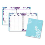 At-A-Glance Wild Washes Weekly/Monthly Planner, 8 1/2 x 11, Floral, Animal, 2019