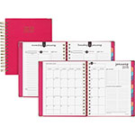 At-A-Glance Daily Hardcover Planner, 8 3/4 x 6 7/8, Pink