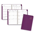 At-A-Glance Contemporary Weekly/Monthly Planner, 4 7/8 x 8, Purple, 2019