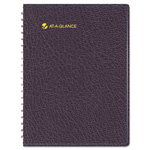 "At-A-Glance Eight-Person Group Practice Daily Appointment Book, 8-1/2""x11"", Black, 2014"