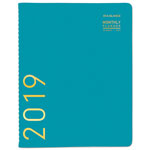 At-A-Glance Contemporary Monthly Planner, 9 1/2 x 11 1/8, Teal, 2018