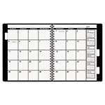 "At-A-Glance Appointment Book Refill For Three- Or Five-Year Planner, Black, 9"" x 11"", 2016"