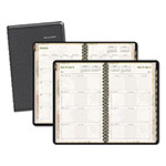 "At-A-Glance Black Life Links Desk Weekly/Monthly Appointment Book, 4-7/8"" x 8"""
