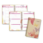 "At-A-Glance Watercolors Weekly/Monthly Planner, 5-1/2""x8-1/2"", Floral Cover, 2013"