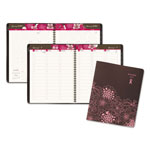 At-A-Glance Sorbet Weekly/Monthly Appointment Book, 8 1/4 x 10 7/8, Brown/Pink, 2017