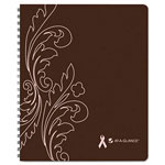 "At-A-Glance Sorbet Weekly/Monthly Planner, 8-1/4""x10"", Brown, 2013"