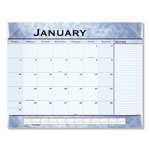 At-A-Glance Slate Blue Desk Pad, 22 x 17, Slate Blue , 2017