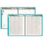 At-A-Glance Suzani Weekly/Monthly Appointment Book, 8 1/2 x 11, 2017