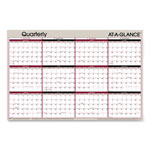 At-A-Glance Vertical/Horizontal Erasable Quarterly Wall Planner, 24 x 36, 2019
