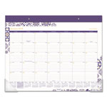 "At-A-Glance Abby Desk Pad, 21 3/4"" x 15 1/2"", Abby Design, 2018"