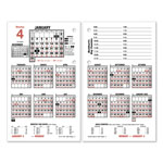 At-A-Glance Burkhart's Day Counter® Daily Calendar Refill, 4 1/2 x 7 3/8